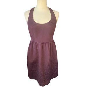 Club Monaco Ribbon Back Mini Dress